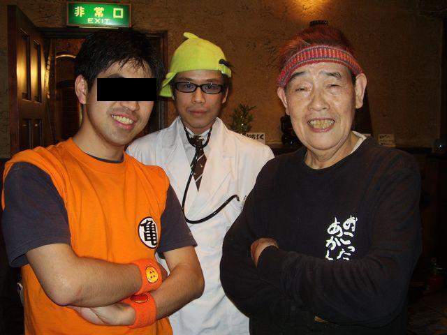 店長と湯川さんとで3ショット