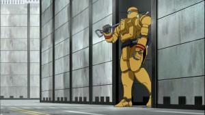 黄色いMS